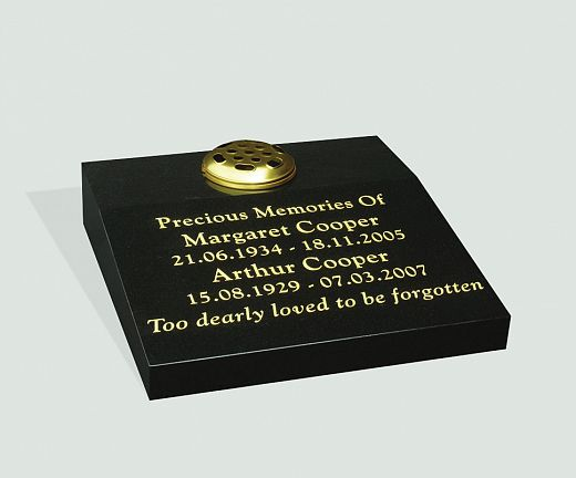 cremation headstone