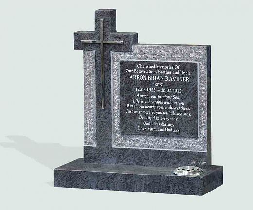 personal message headstone