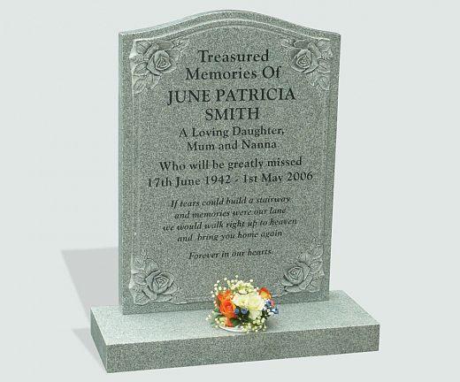 Headstone poem inscription