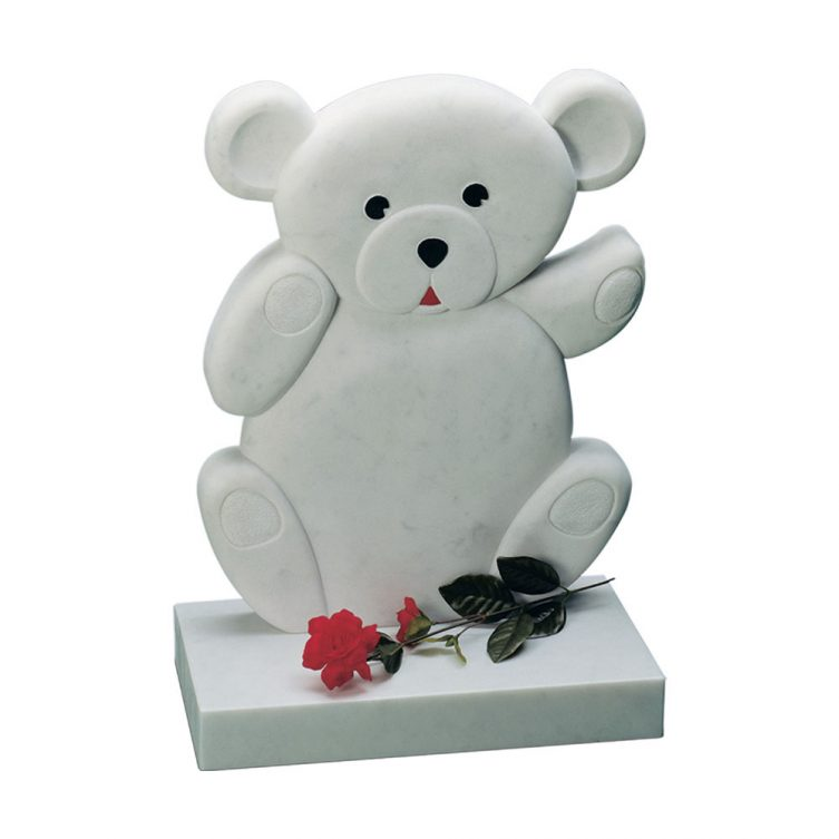 Teddy Bear Shaped Headstone