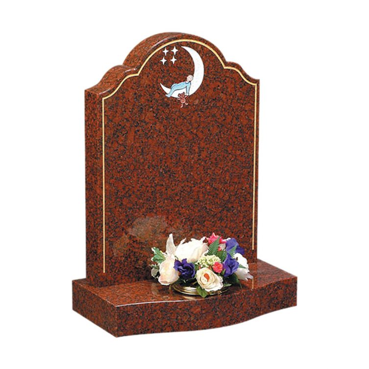Sleeping Child Moon Headstone image 2