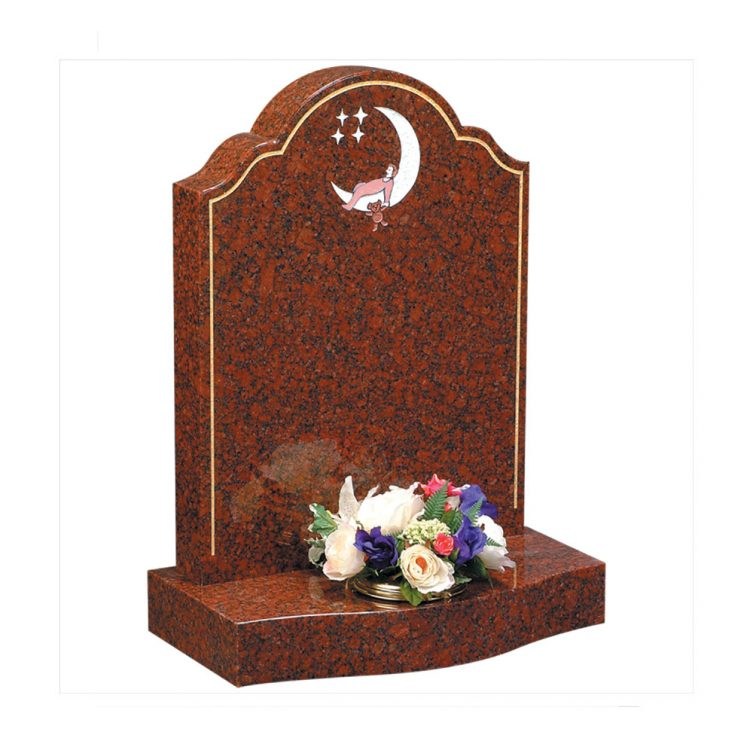 Sleeping Child Moon Headstone image 1