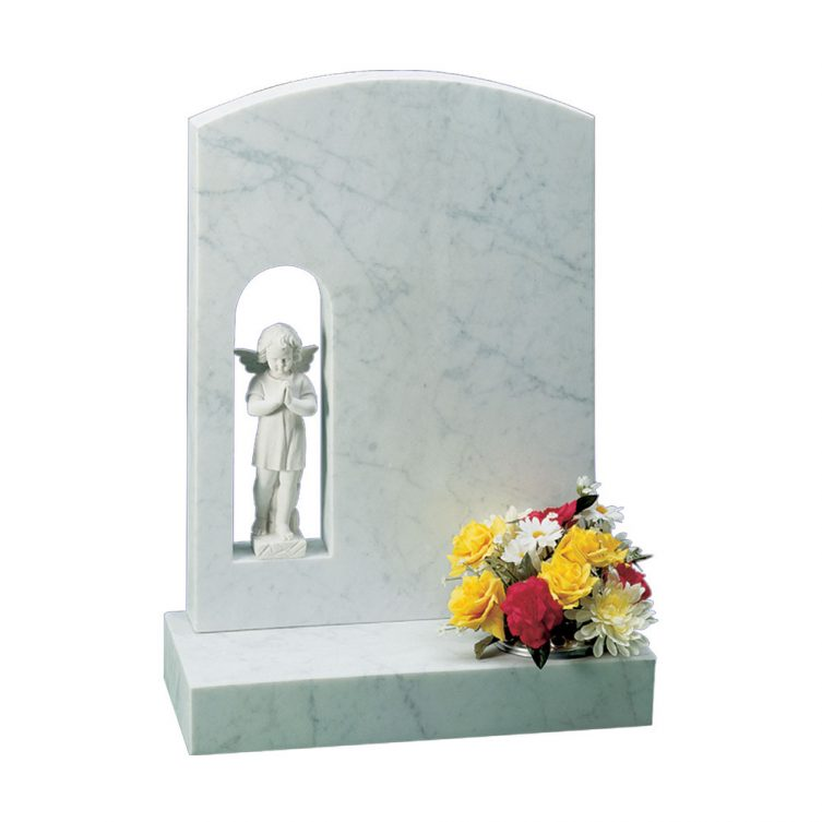 Praying Cherub Headstone
