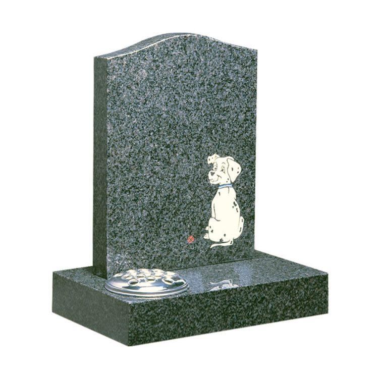 Dalmatian Puppy Headstone image 1