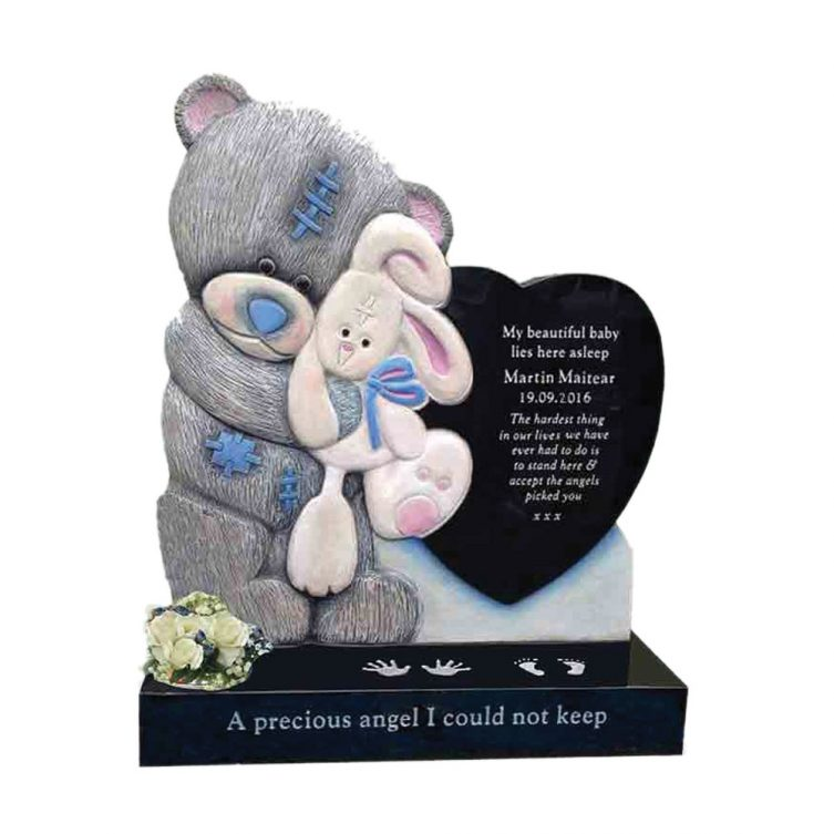 Teddy, Rabbit and Heart Memorial image 1