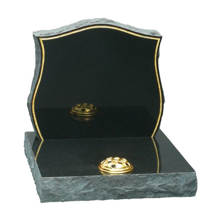 Rustic Headstone Small Memorial