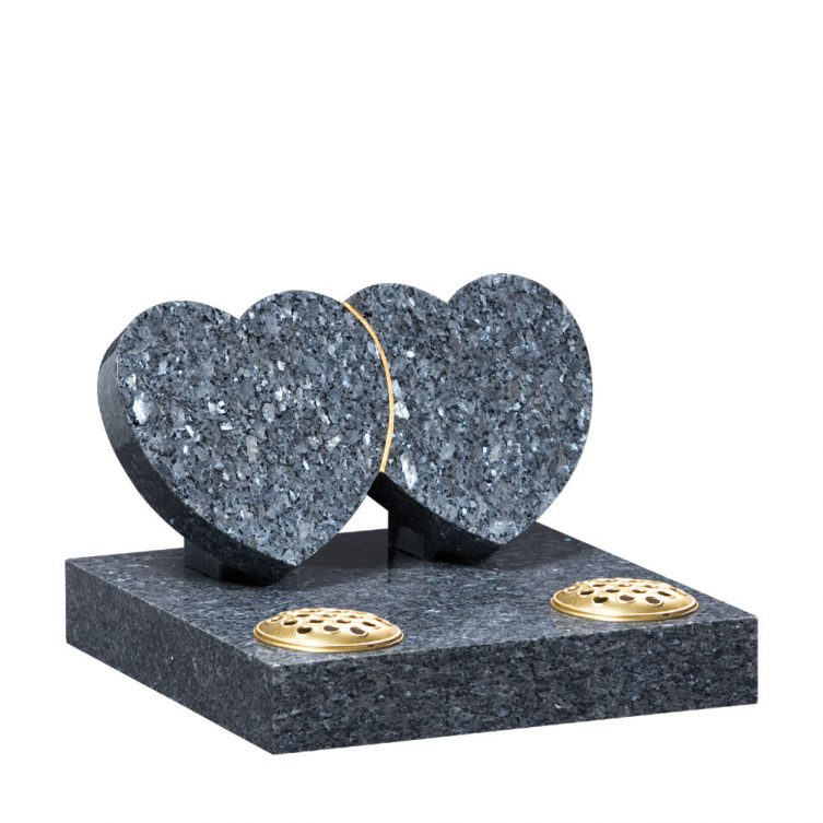 Polished Blue Pearl Granite Small Memorial 1st Choice