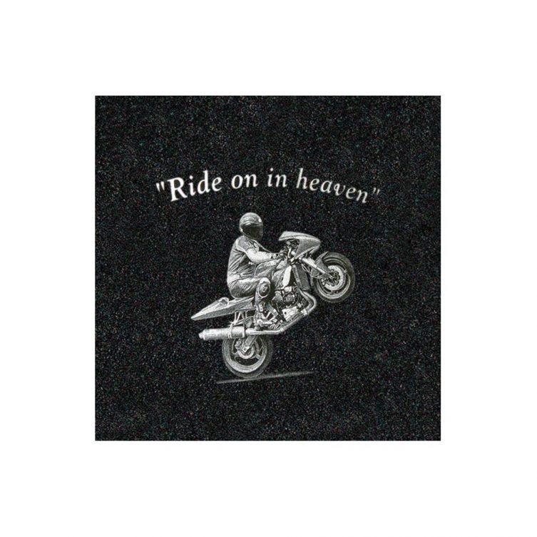 Small Motorbike Etching image 1