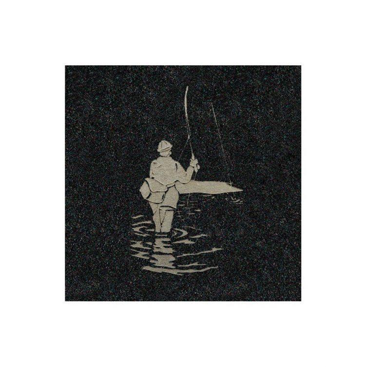 Fisherman Wading image 1