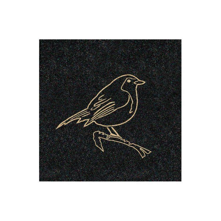Gilded Outline Robin image 1