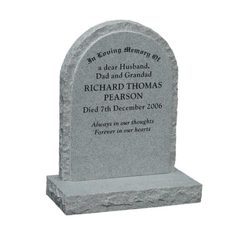 Round Top Headstone image 2
