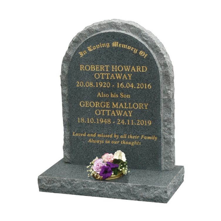 Round Top Headstone image 1