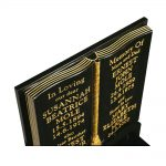 Gilded Book Headstone image 2 thumbnail