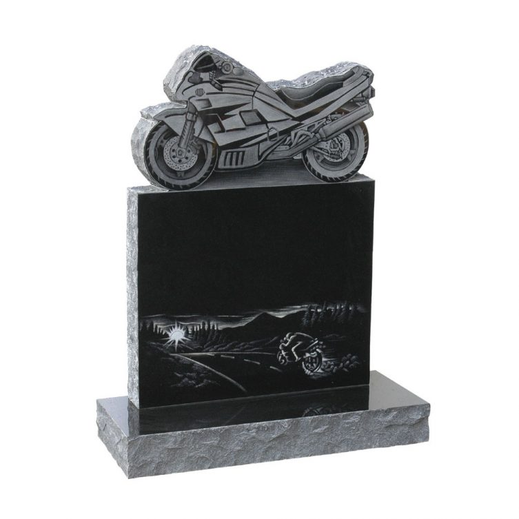 Motorcycle Bespoke Design Headstone