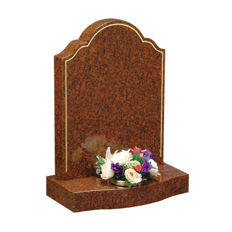 Ornate Ogee Top Headstone image 1