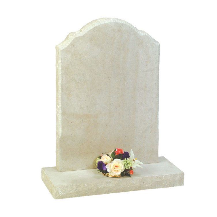 Bevel-Edged Headstone image 1
