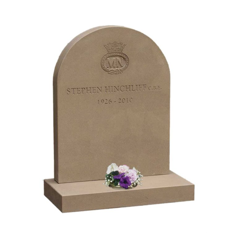 Classic Round Top Headstone