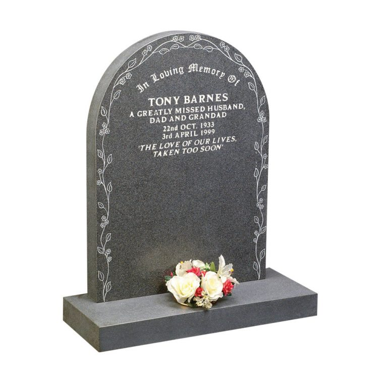 Forget-Me-Not Headstone