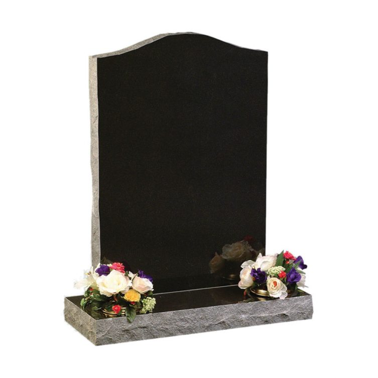 Pitched Edge Ogee Top Headstone
