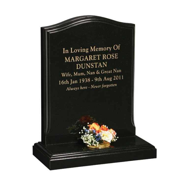 Headstone with Ovolo Moulding