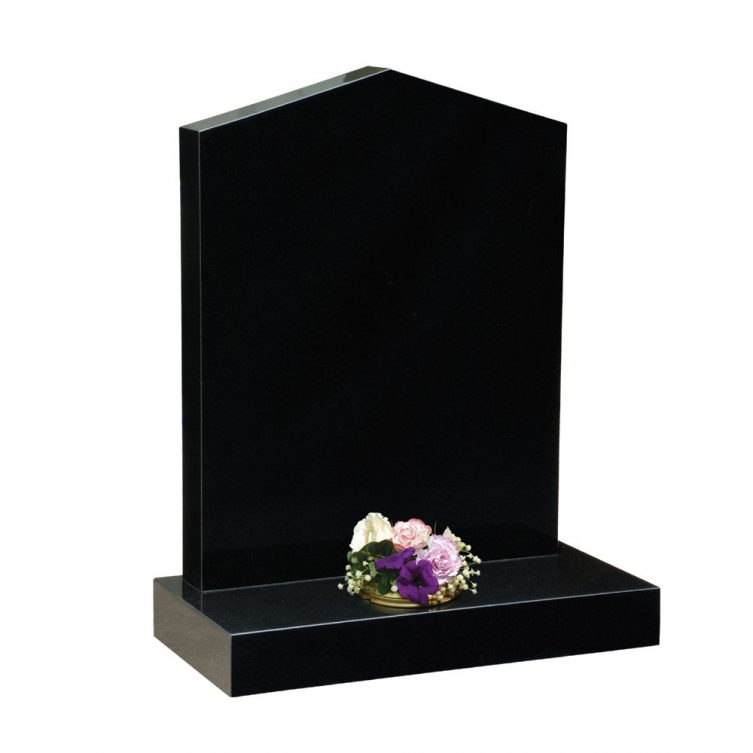 Apex Top Headstone
