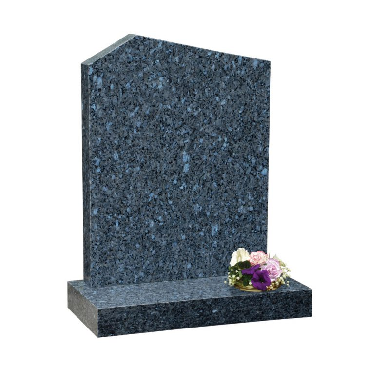 Offset Peon Top Headstone