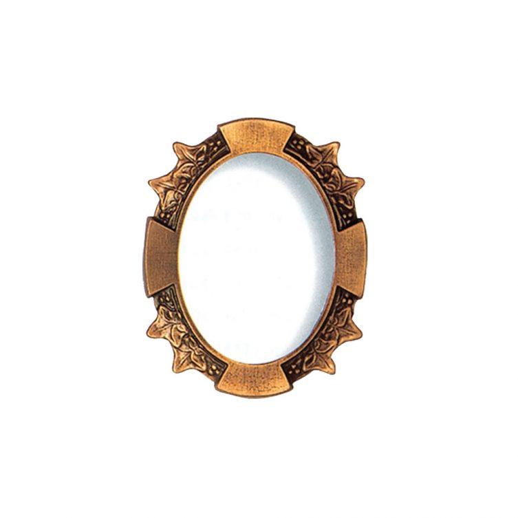 Decorative Oval Photo Frame