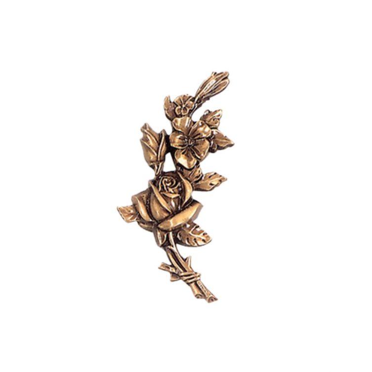 Short Stem Rose Ornament image 1