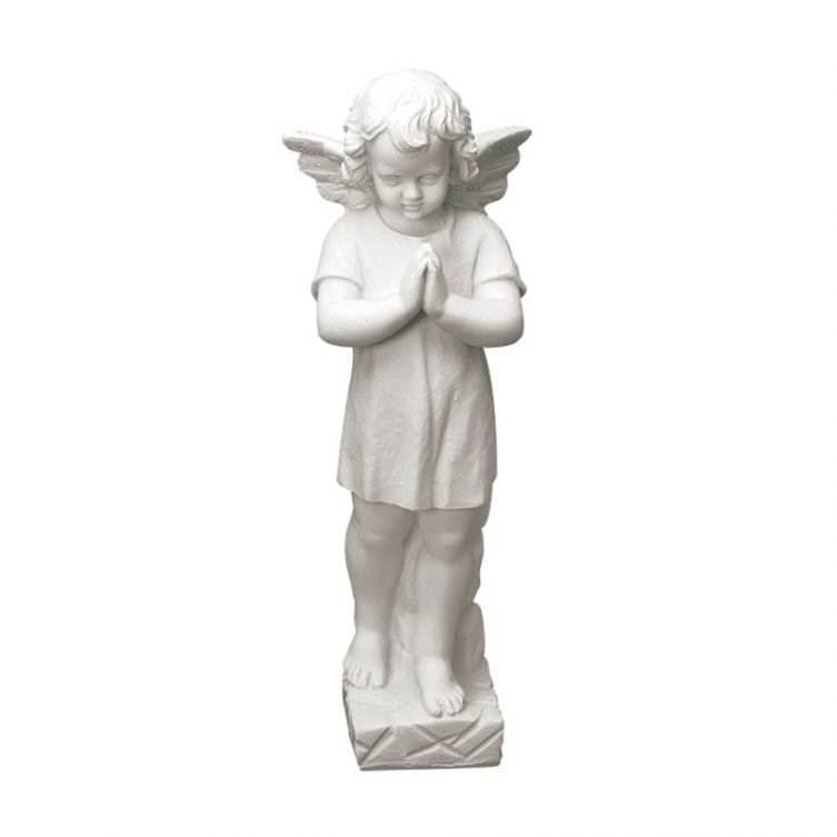 Praying Cherub Statue image 1