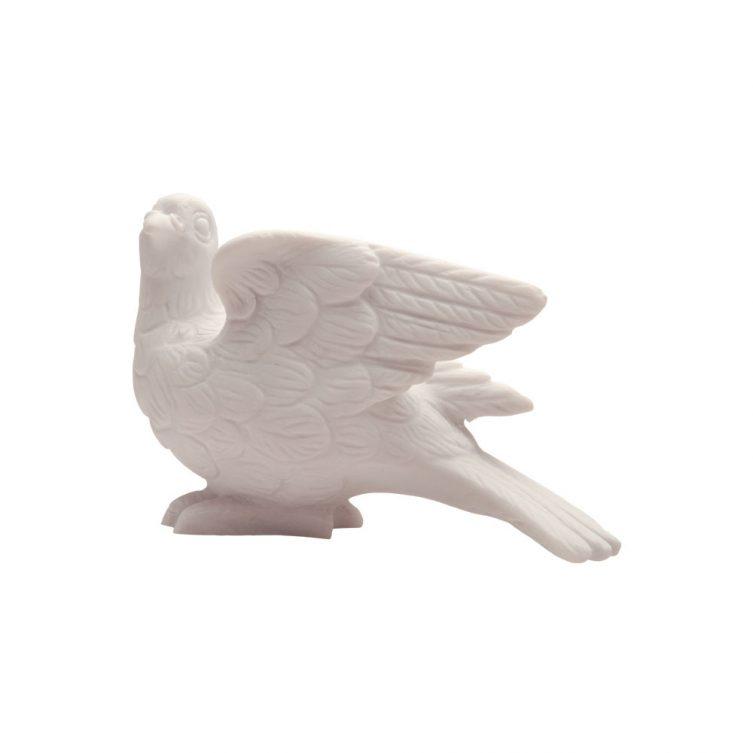 White Dove Memorial Statue