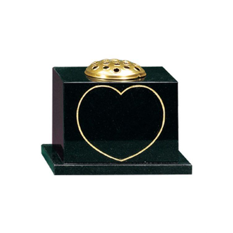 Keyline Heart Vase