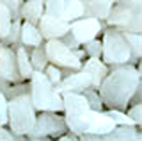 White Chippings Sample