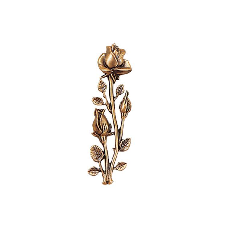 Long Stem Rose Ornament image 1