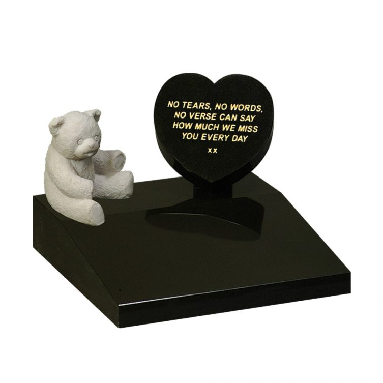 Teddy and Heart Memorial