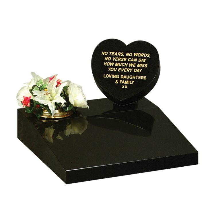 Heart and Tablet Small Memorial image 1